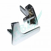 DP0003  Seat Ibiza and Cordoba 1998-2003; Left Door Aluminum Plated Plastic Stainless Interior Door Handle for all